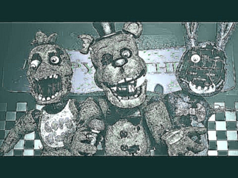 Five Nights at Freddy's Song FNAF SFM 4K | Music Box - Die In A Fire